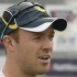 South Africa's AB de Villiers is interviewed before a training